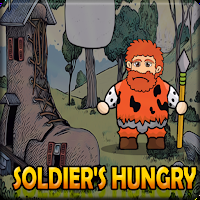G2J Forest Soldiers Hungry Escape game