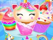 Unicorn Mermaid Cupcake Cooking Design game
