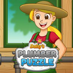 Daisy Plumber Puzzle game