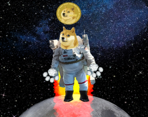 Dogecoin To The Moon & Beyond game
