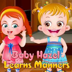 Baby Hazel Learns Manners game