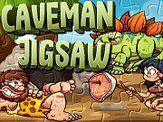 Caveman Jigsaw game