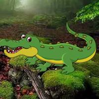 play G2R Strange Crocodile Forest Escape Html5