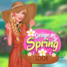 Design My Spring Look game
