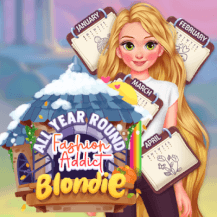 All Year Round Fashion Addict Blondie game