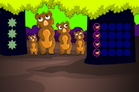 play G2M Bear Land Escape Html5