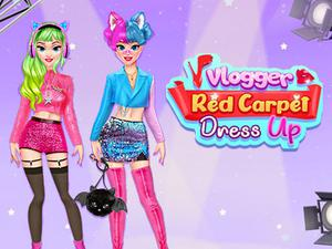 Vlogger Red Carpet Dress Up game