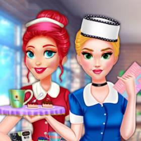 Princess Cafe Barista Outfits - Free Game At Playpink.Com game