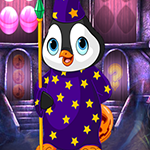 Magician Penguin Escape game