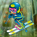 Skillful Skier Escape game