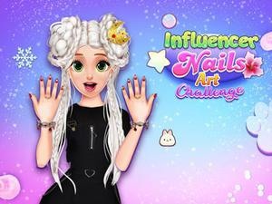 Influencer Nails Art Challenge game