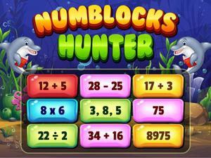 Numblocks Hunter game