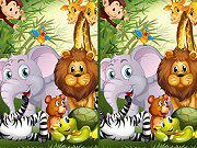 Find Seven Differences Animals game