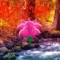 Fall Water Forest Escape Html5 game