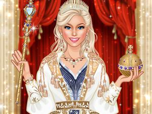 Queen Fashion Salon Royal Dress Up game