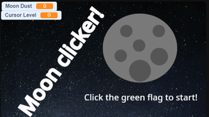A Moon Clicker Or Something game