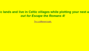 Escape The Romans Part 3! game