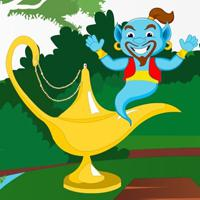 Rescue Crazy Genie Html5 game