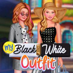 play My Black And White Outfit