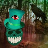 Wow-Terrible Skull Land Escape Html5 game