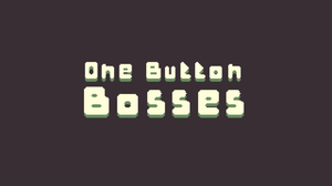 One Button Bosses game