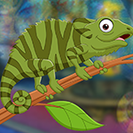 Unsightly Chameleon Escape game