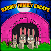 G2J Cute Rabbit Family Escape game