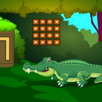 play G2M Crocodile Land Escape Html5