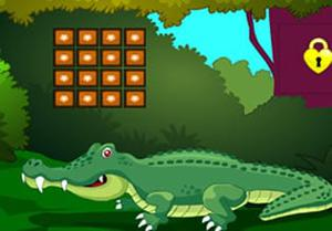 Crocodile Land Escape game