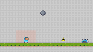 Side Scrolling Clicker game