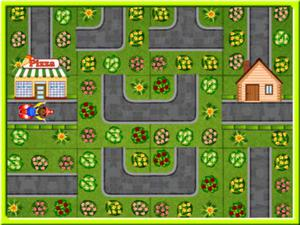 Pizza Delivery Puzzles game