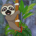 Gleeful Sloth Escape game