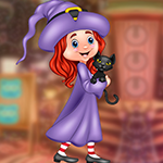 play Lethargic Witch Girl Escape