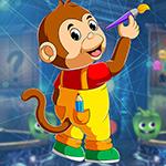 play Monkey Painter Escape