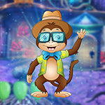 play Genial Hipster Monkey Escape