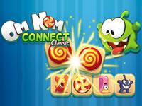 play Om Nom Connect Classic