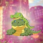 play Cute Crocodile Family Escape