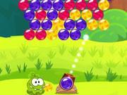 play Om Nom Bubbles