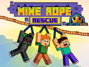 play Mine Rope Rescue