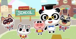 play Dr Panda School