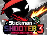 play Stickman Shooter 3 - Among Monsters