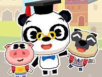 play Dr. Panda School