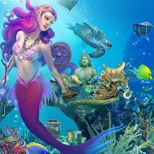 play Mermaid Wonders Hidden Object