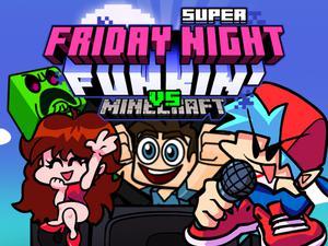 play Super Friday Night Funki Vs Minecraft
