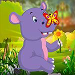 play Cute Hippo Calf Escape