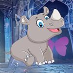 play Lovable Infant Rhino Escape