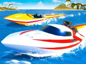 play Speed Boat Extreme Racing